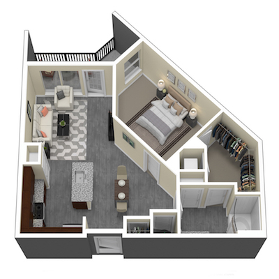 35 Folly New Studio 1 Amp 2 Bedroom Luxury Apartments In